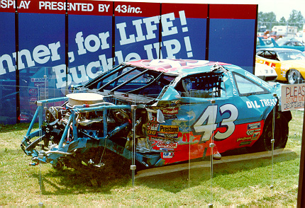1988 Daytona crash car